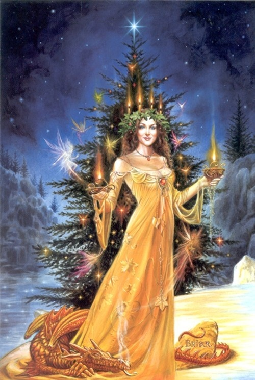 Winter Solstice Goddess by Briar