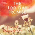 Giveaway! The 100 Day Promise – Living Abundance Course with Sandi Amorim