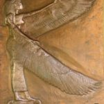 The Goddess Isis and the Winds by M Isidora Forrest MotherHouse of the Goddess