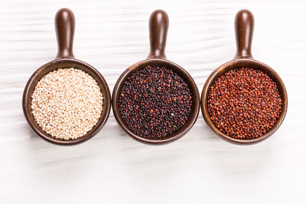 White Red and Black Uncooked Quinoa MotherHouse of the Goddess