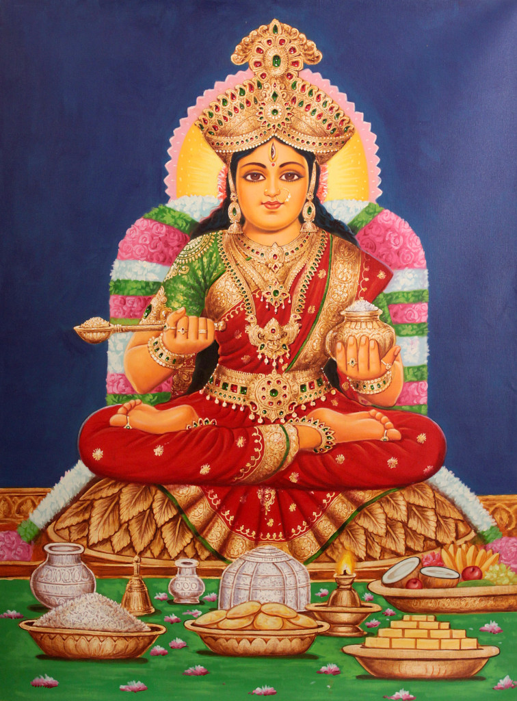 Annapurna - Hindu Goddess of Nourishment