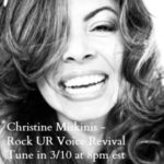Goddess Alive – Christine Miskinis from Rock UR Voice Revival