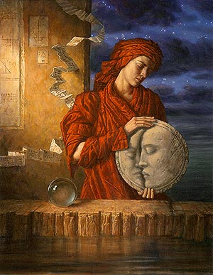 Drawing Down the Moon by Jake Baddeley