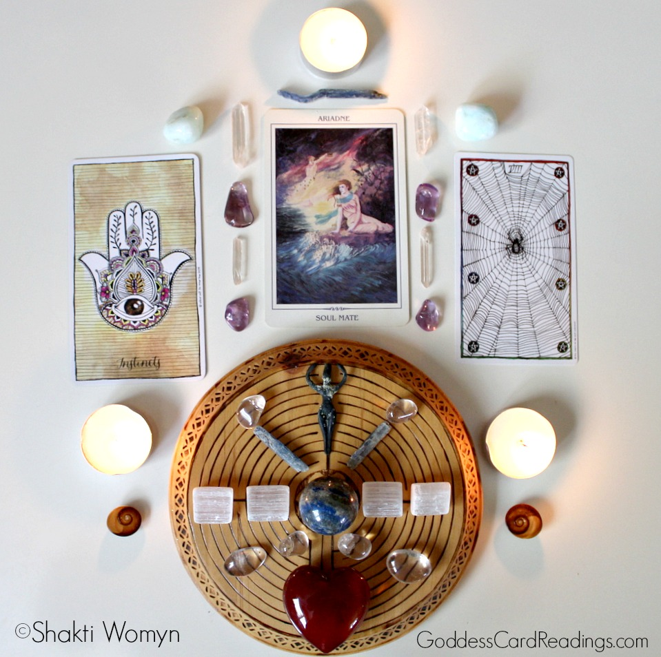 Full Moon Lunar Eclipse Reading - Ariadne, Weaving, and Instincts Kimberly F Moore Shakti Womyn