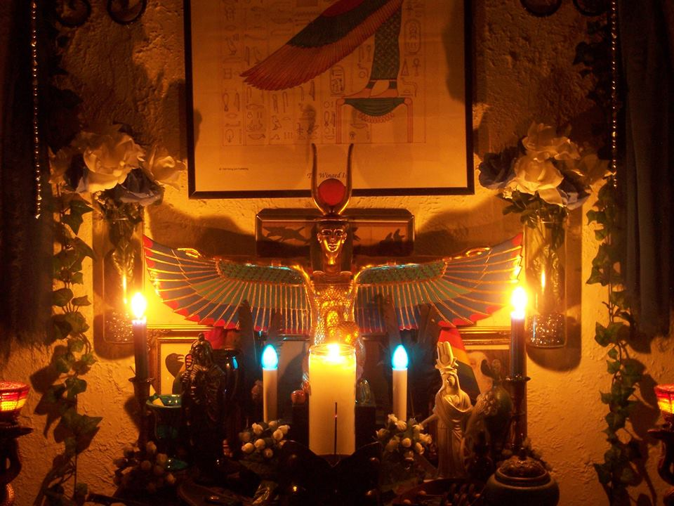Isis Altar by Michael Butler Smith