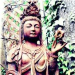 Kwan Yin in Nature by Sandy Boucher {Guest Post}