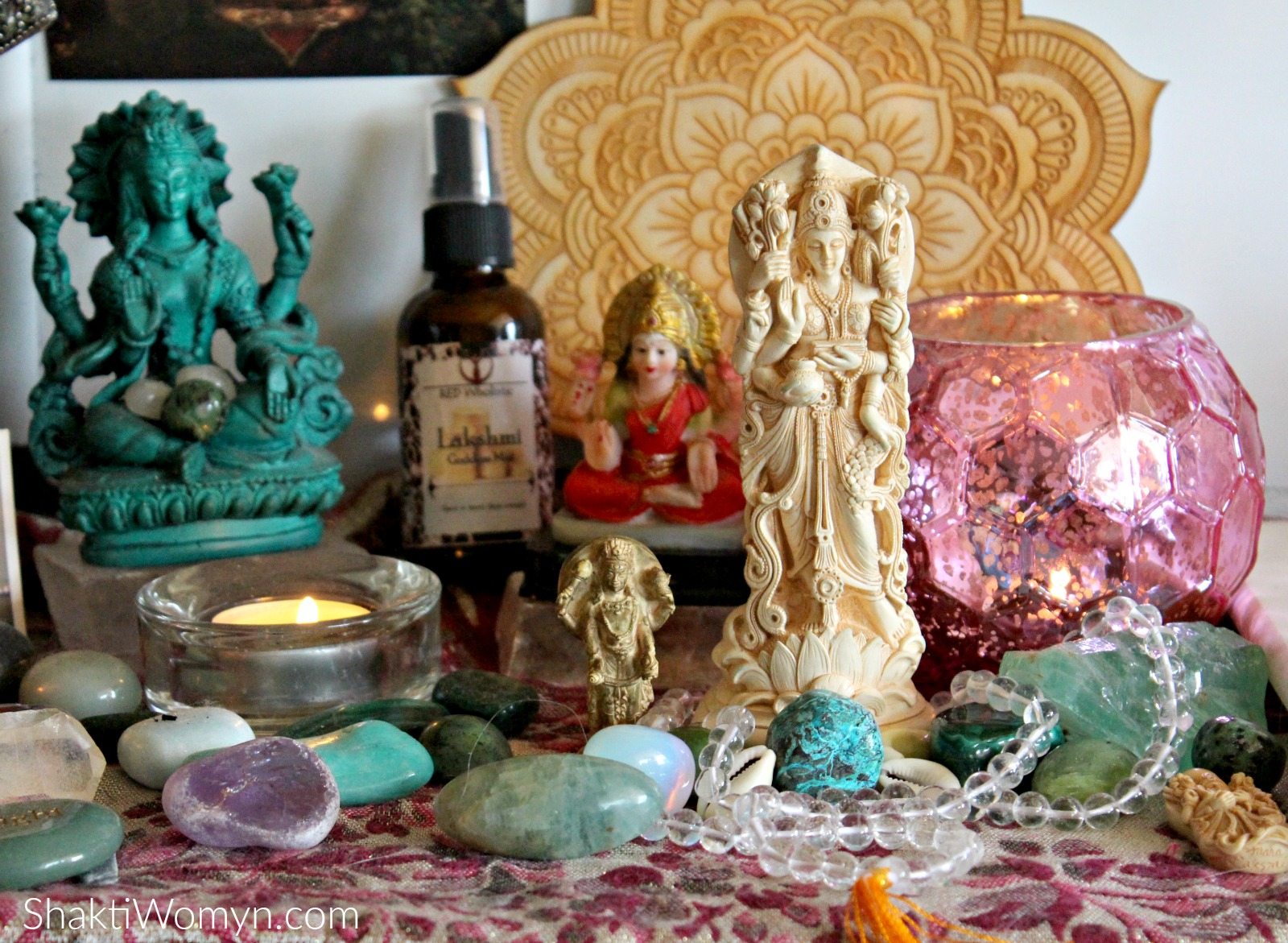 Lakshmi on the Shakti Altar Shakti Womyn