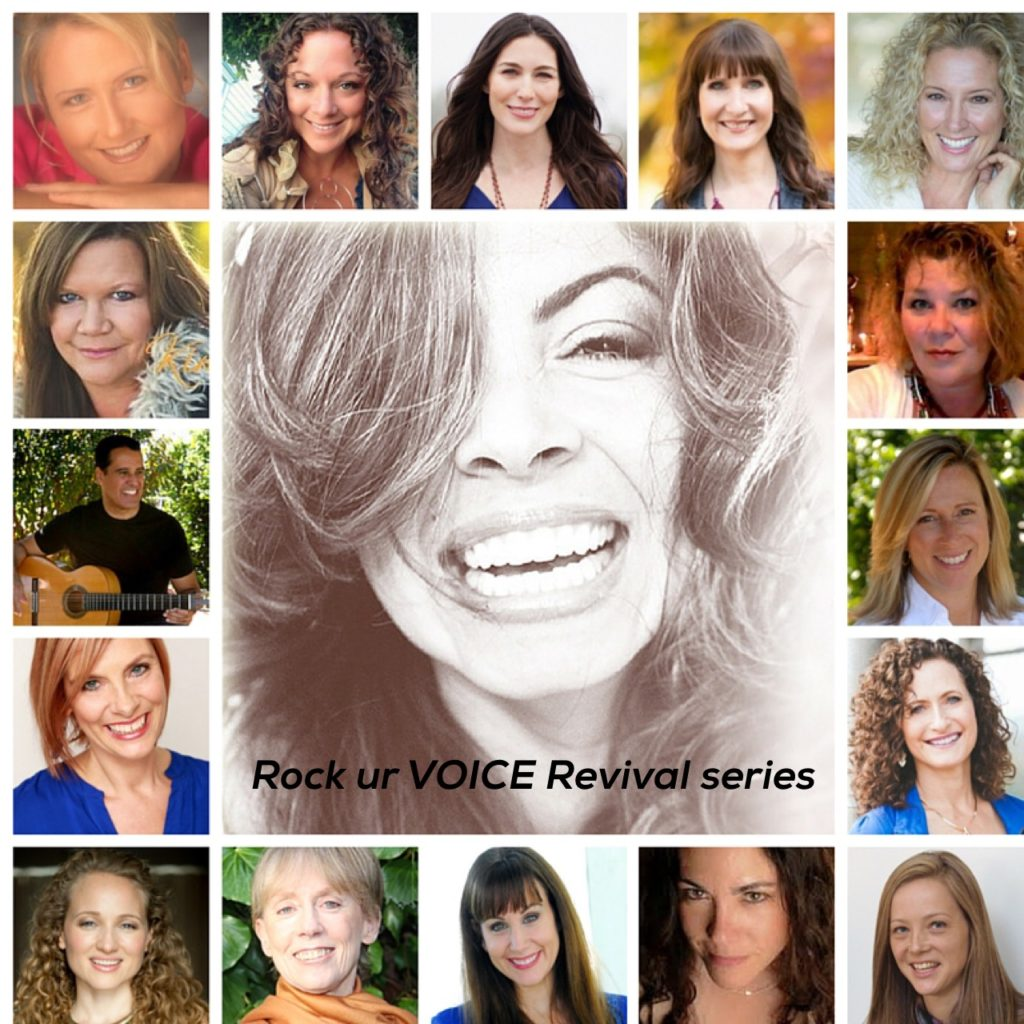 Rock UR Voice Revival Series group