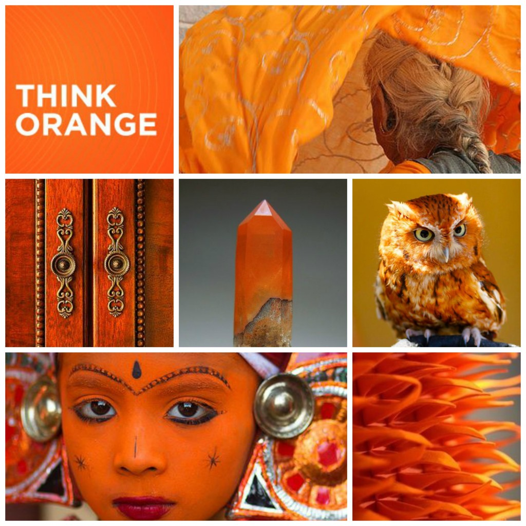 Color Magic - The Color Orange by Margaret Ann Lembo MotherHouse of the Goddess