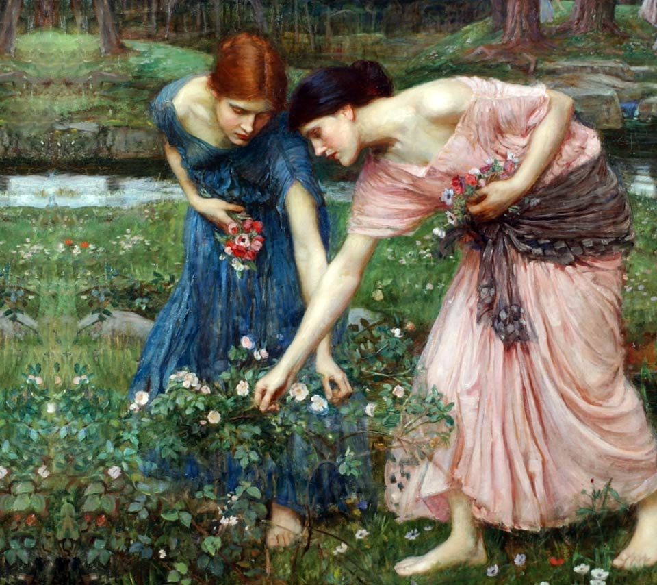 Waterhouse gather ye rosebuds
