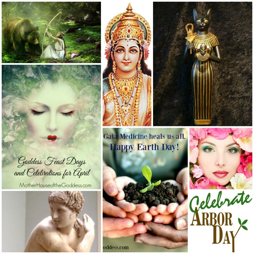 Goddess Feasts Days and Celebrations for April 2016