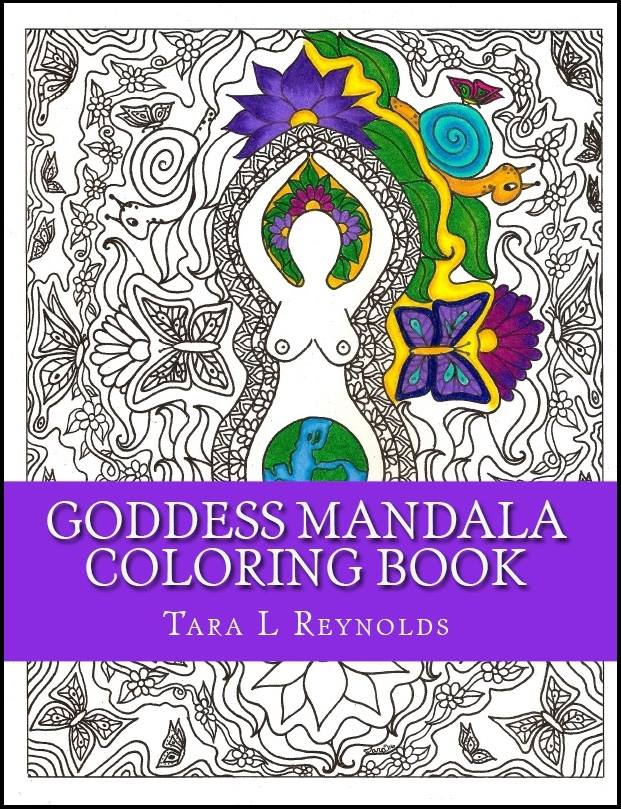 Goddess Mandala Coloring Book by Tara Reynolds 2
