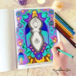 Honoring the Goddess the Creative Way – Goddess Mandala Coloring Book {Tara Reynolds}