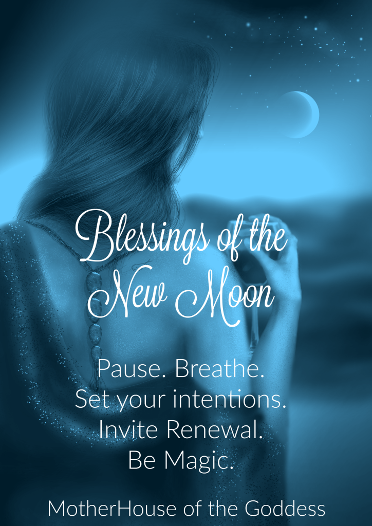New Moon Blessings Meme MotherHouse of the Goddess