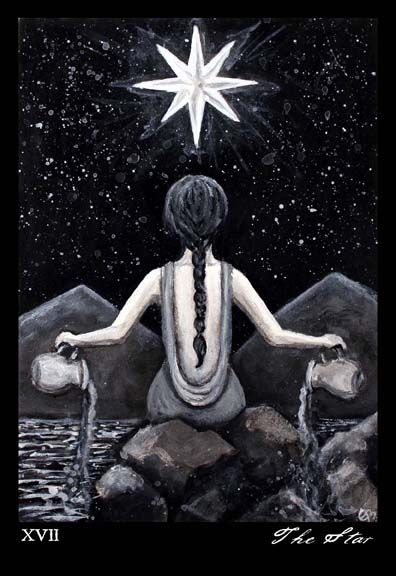 The Star from Phantomwise Tarot by Erin Morgenstern Article by Kathryn Ravenwood MotherHouse of the Goddess