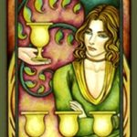 High Priestess Tarot – Four of Cups {Kathryn Ravenwood}