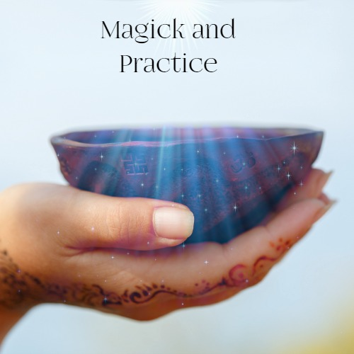 May MotherRoot Magick and Practice hand bowl light