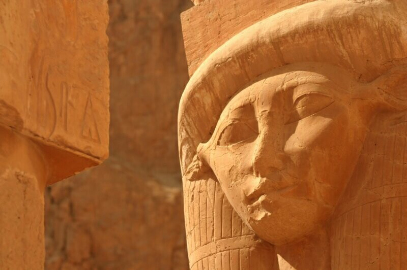 hathor face