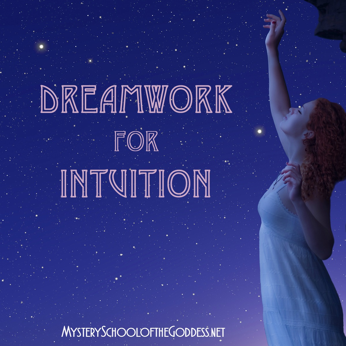 Dreamwork for Intuition Online Course with Charlotte Elea Mystery School of the Goddess