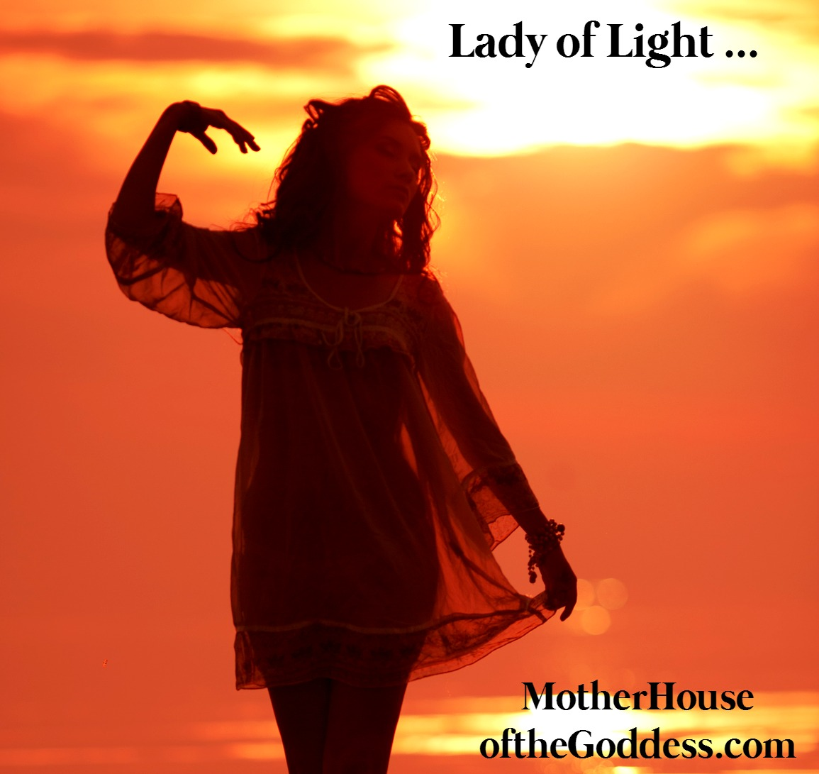 Lady of Light - Solar Goddesses for Summer Solstice by Susan Harper on MotherHouse of the Goddess