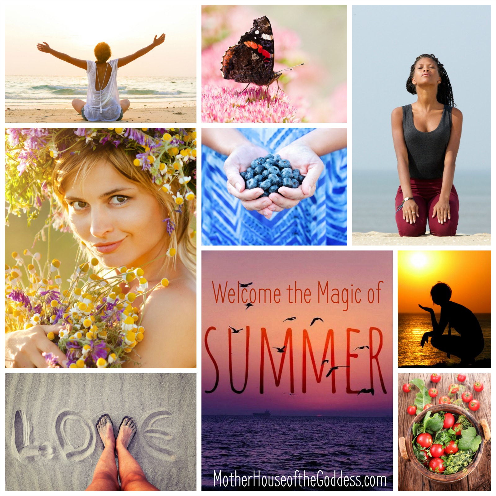 Ways to Welcome the Magic of Summer MotherHouse of the Goddess