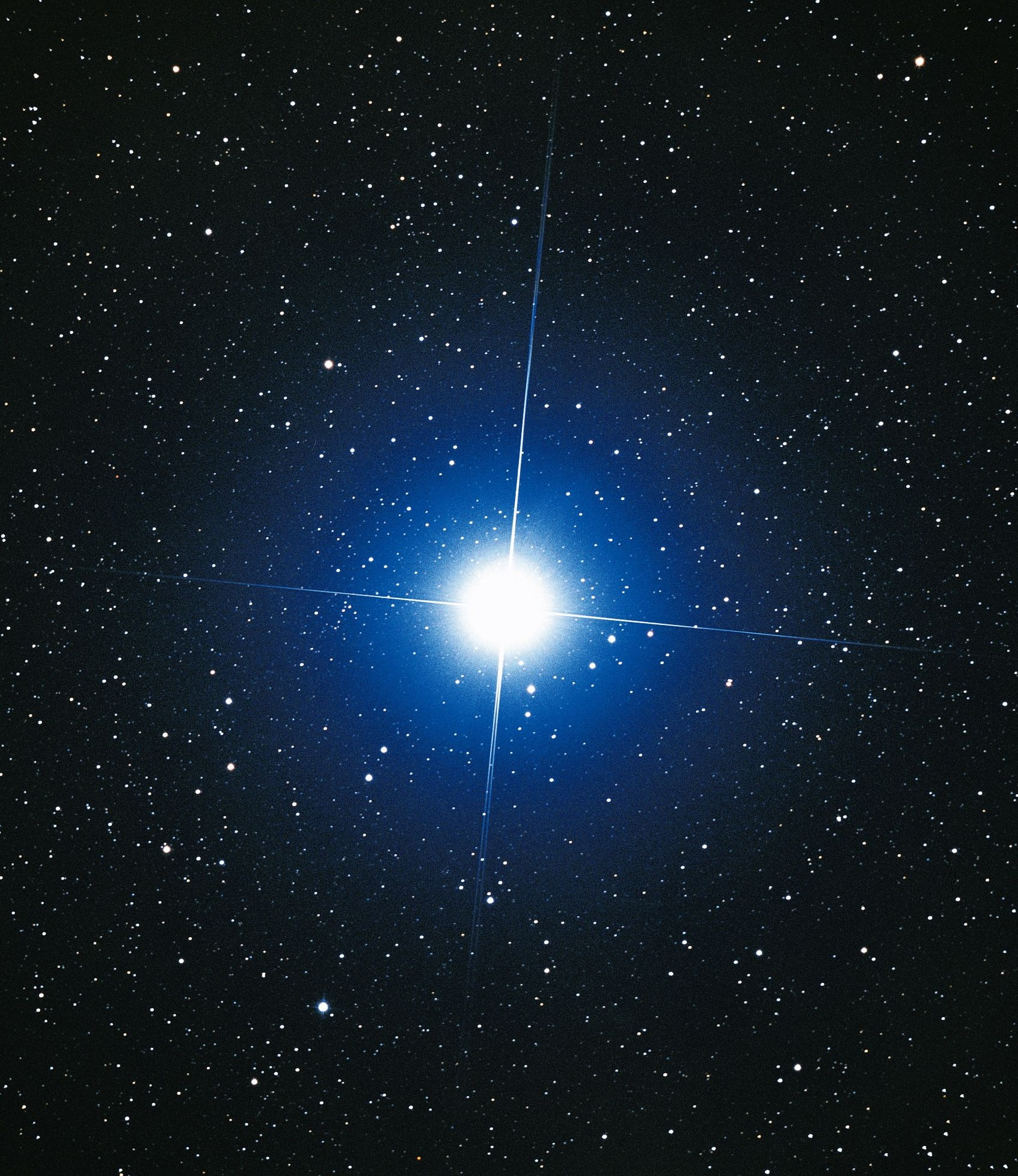 The Star of Isis is at its highest point in the night sky right now