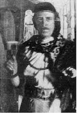 MacGregor Mathers dressed in his priest of Isis garb