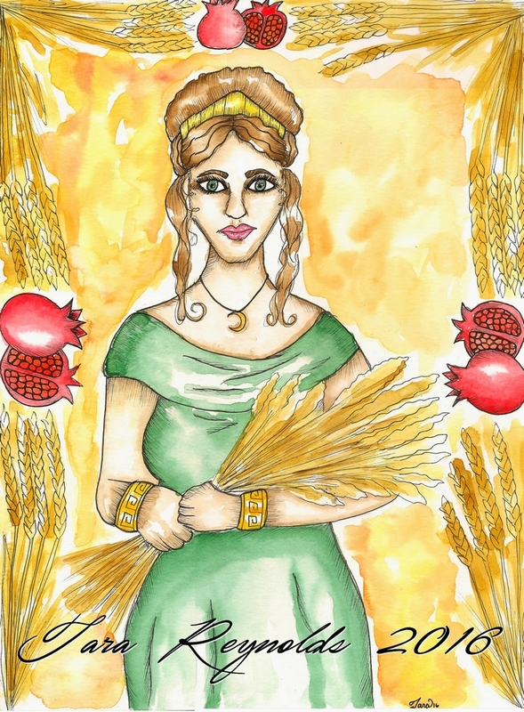 demeter god of agriculture