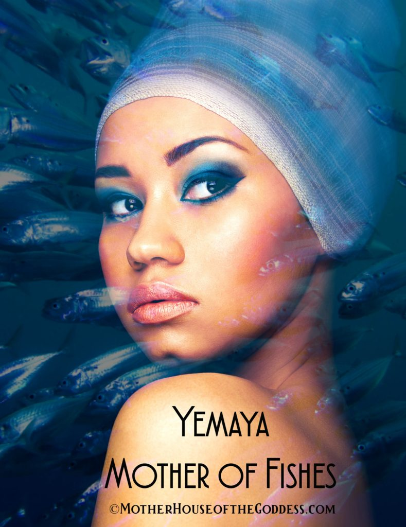 Yemaya Mother of Fishes Orisha Cards