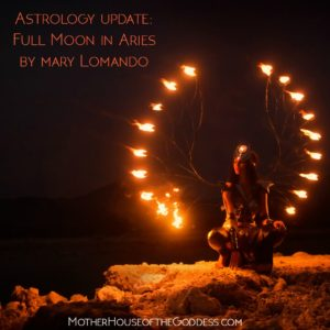 Astrology Update – Full Moon in Aries September 2018 by Mary Lomando