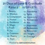 21 Days of Love and Gratitude Instagram Challenge #21is12 {Charlotte Elea}