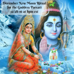 December New Moon Ritual with Laura Amazzone for Parvati – Goddess of Strength, Devotion, and Commitment