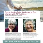 Connecting the Dots: Awakening to Our Intimacy with All That Lives – 3 Day Retreat with Sandy Boucher and Martha Boesing {February 2017 Retreat}