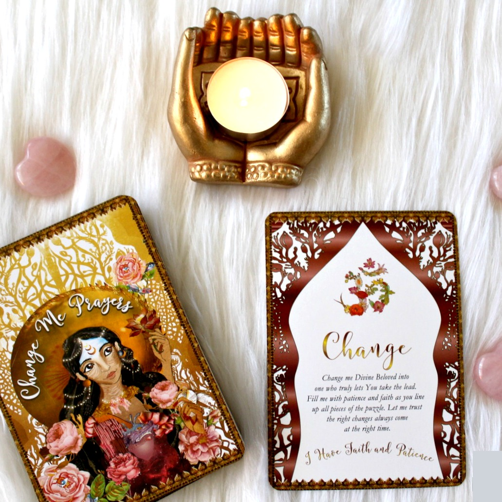 Surrender And A Review Of The Change Me Prayers Oracle