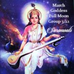 Celebrating the Goddess Saraswati for March 2017 Full Moon {Goddess Full Moon Group}