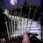 High Priestess Tarot – Ten of Swords by Kathryn Ravenwood