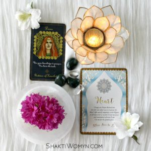 New Moon Divination for April – Goddess Danu & the Heart by Kimberly F. Moore