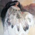 Woman's Wisdom and White Buffalo Calf Woman by Renee Starr