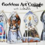 Goddess Art Collage by Jude Lally