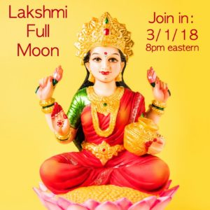 Goddess Full Moon Group – LAKSHMI FULL MOON March 1