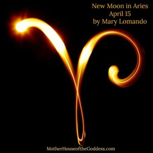 Astrology Update – New Moon in Aries on April 15 by Mary Lomando