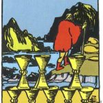 High Priestess Tarot – Eight of Cups by Kathryn Ravenwood