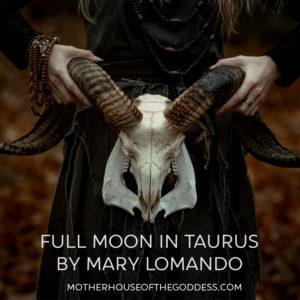 Astrology Update – Full Moon in Taurus October 24 by Mary Lomando