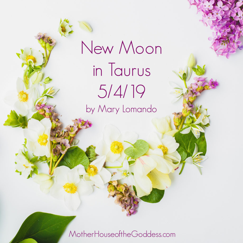 New Moon in Taurus by Mary Lomando