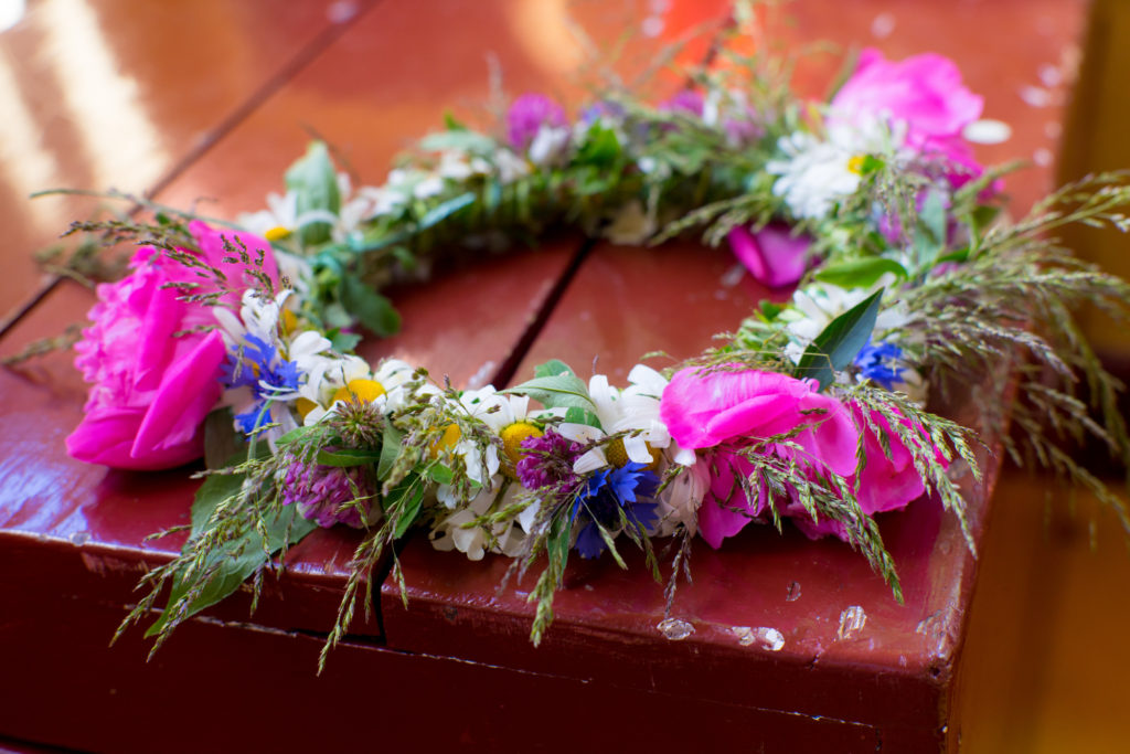 summer solstice flower crown 2